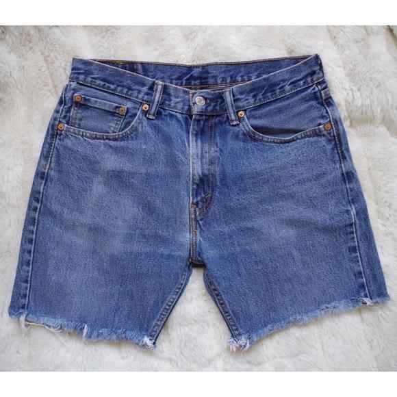 8abe449f Levi's Shorts | Mens Levis Cut Off Denim | Poshmark